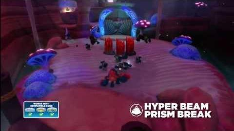 Meet the Skylanders Hyper Beam Prism Break