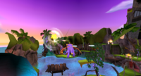 Spyro ETD Swim in Air Glitch