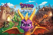 Spyro Reignited Trilogy Full Cover