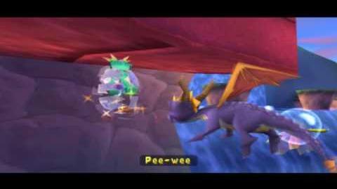 Spyro 3 Year of the Dragon - Hidden Egg in Bamboo Terrace