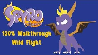 Spyro the Dragon 120% Walkthrough - 23 - Wild Flight