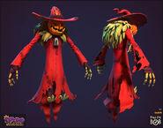 Neer-scarecrow