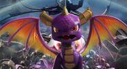 Spyro as seen in The Beginning Trailer
