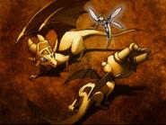 Spyro vs Cynder