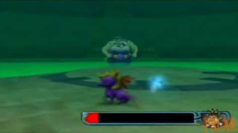 Spyro A Hero's Tail - Boss 2 - Ineptune