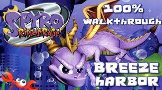 Spyro 2- Ripto's Rage! 100% Walkthrough - 14 - Breeze Harbor