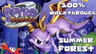 Spyro 2- Ripto's Rage! 100% Walkthrough - 2 - Summer Forest