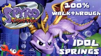 Spyro 2- Ripto's Rage! 100% Walkthrough - 3 - Idol Springs