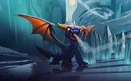 Spyro 3DS Concept Art
