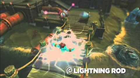 Skylanders Spyro's Adventure - Lightning Rod Preview (One Strike and You're Out)