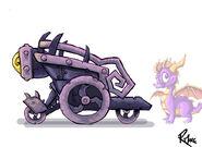 P Fire Kart