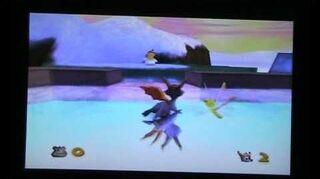 Spyro 2 Ripto's Rage! - Colossus (Hockey Trick)