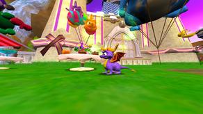 Spyro Sparx Enter the Dragonfly