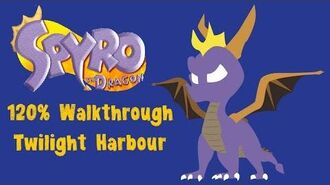 Spyro the Dragon 120% Walkthrough - 33 - Twilight Harbour