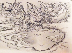 Spyro and Stealth Elf
