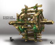 TallPlains Waterwheel