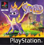 European cover Spyro1