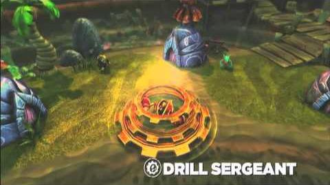 Skylanders Spyro's Adventure - Drill Sergeant Preview (Licensed to Drill)