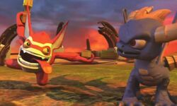 Spyro and Trigger Happy