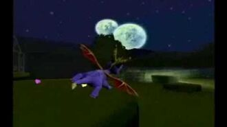 Spyro enter the dragonfly trailer