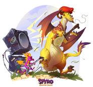 Spyro Tomas ReignitedArt