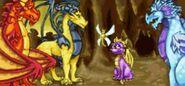 SpyroSparx Guardians GBA2