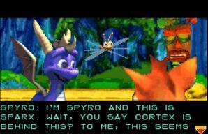 SpyroSparx AkuAku CrashPurple