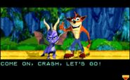 Spyro CrashPurple
