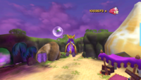 Spyro AHT Swim in Air Glitch