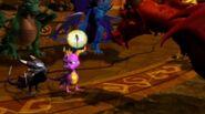 Spyro Cynder Guardians Sparx