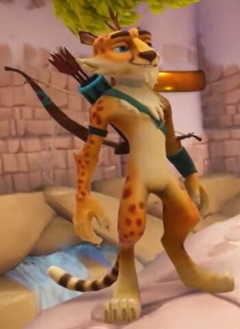 Hunter The Cheetah Spyro Wiki Fandom Powered By Wikia