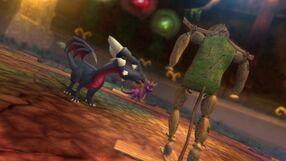Cynder training Spyro