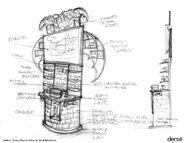 Spyro's Kingdom game stand concept2