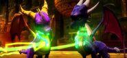 Spyro Cynder GreenChains