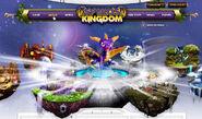 Selecing Spyro on Spyro's Kingdom