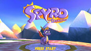 SpyrotheDragon titlescreen