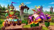 Crash Team Racing Nitro Fueled - Spyro & Friends Grand Prix Trailer