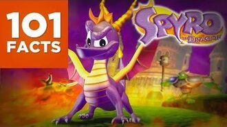 101 Facts About Spyro The Dragon