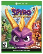 Xbox One Spyro Reignited Trilogy Cover
