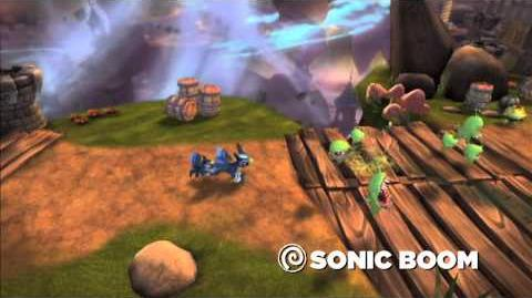 Skylanders Spyro's Adventure Meet the Skylanders - Sonic Boom