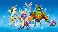 SpyroGrandPrix Characters
