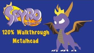 Spyro the Dragon 120% Walkthrough - 24 - Metalhead