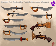 A Arena SkavengerWeapons