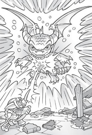 Skylanders Spyro Versus The Mega Monsters