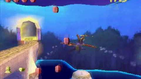 Spyro the Dragon -29- Icy Flight