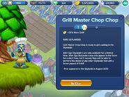 Grill Master Chop Chop info