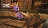 Cynder versus Spyro2
