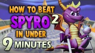 How to beat SPYRO 2 in under 9 Minutes!