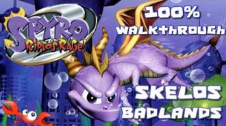 Spyro 2- Ripto's Rage! 100% Walkthrough - 11 - Skelos Badlands