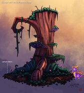 Grove Feature Stump